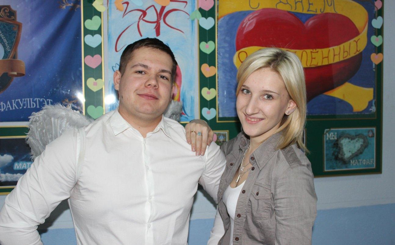 День св. Валентина на матфаке БГПУ 2015 г.